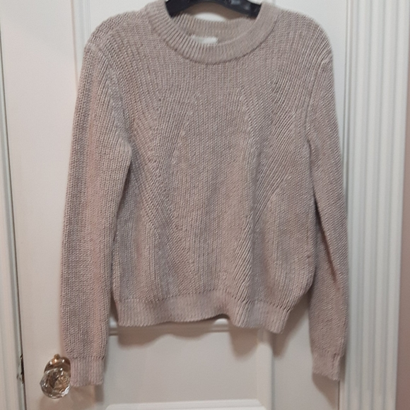 2 for 20! 🛍️ Pink salt and pepper knit sweater